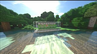 How to Make a Sugarcane Farm in minecraft
