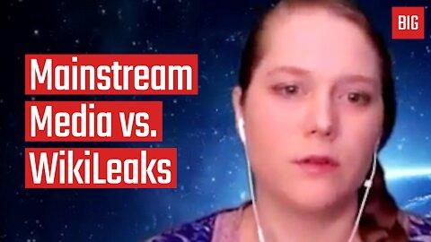 Mainstream Media vs. WikiLeaks - Elizabeth Vos