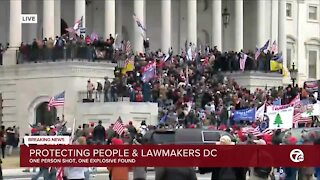 Protecting people and lawmakers in DC