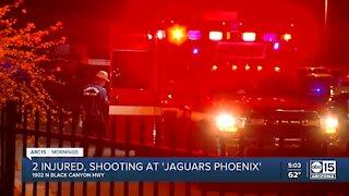 Shooting at Phoenix strip club leaves 2 injured