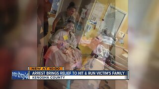 Arrest brings relief to hit-and-run victim's family