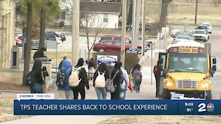 TPS teacher shares back to school experience