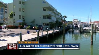 Clearwater Beach residents gear up to fight hotel expansion