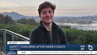 Safety concerns after hiker's death
