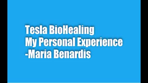 Tesla BioHealing - My Personal Testimonial