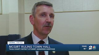 Tulsa County DA hosts town hall about McGirt ruling