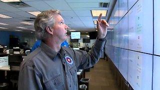 Denver7 tours the emergency operations center as blizzard moves through Colorado