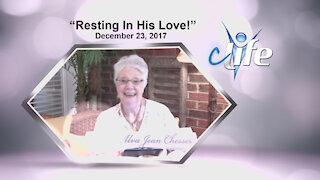 """""""Resting In His Love"""" Alva Jean December 23, 2017"""