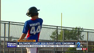 Proposed budget cuts to impact Baltimore County recreation programs
