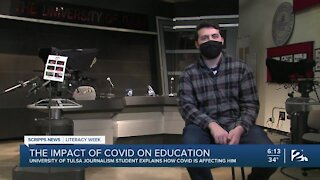 The impact of COVID on education