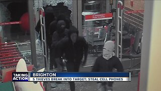5 thieves break into Target store in Brighton, steal cell phones