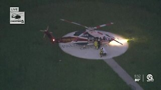 Man struck by motorcycle near Lake Worth Beach