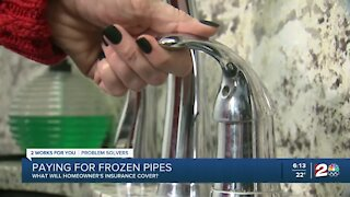 Paying for frozen pipes: What will homeowners insurance cover