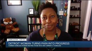 Detroit woman turns pain into progress