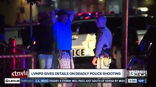 Metro gives details about deadly police shooting