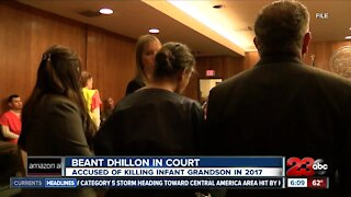 Beant Dhillon in court, accused of killing infant grandson in 2017