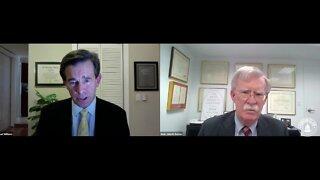 WPTV Anchor Michael Williams interviews John Bolton