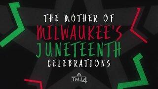 Meet the mother of Milwaukee's Juneteenth celebrations