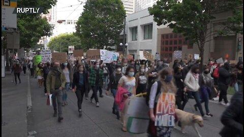 Black Lives Matter prosvjed održan u Seattleu