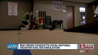 American Red Cross and local emergency services prepare for natural disasters