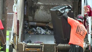 Baltimore City in talks with outside contractors to help with trash & recycling collection