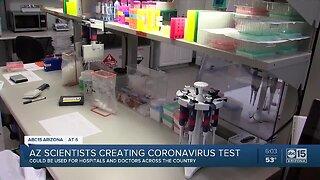 Scientists in Arizona helping create test for coronavirus