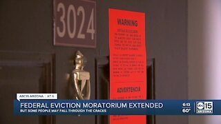 Federal eviction moratorium extended