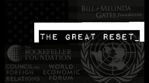 What is the Great Reset?