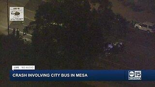 Serious crash involving Valley Metro bus near University and Higley