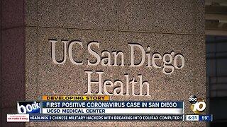 Coronavirus patient in San Diego in good condition
