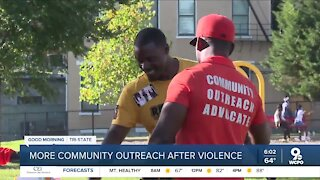 Community outreach advocates work to prevent shootings