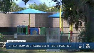 Child from El Prado Elementary tests positive for coronavirus