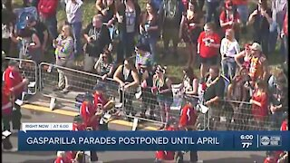 Gasparilla parades postponed until April