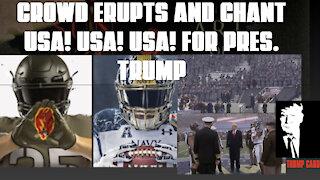 EPIC! CROWD ERUPTS AND CHANT USA! USA! USA!