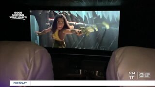 Futuristic movie theater opens in Wesley Chapel