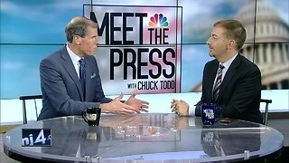 NBC's Chuck Todd talks Wisconsin politics with TODAY'S TMJ4