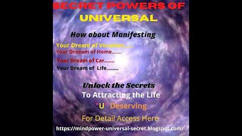 Secret Powers of Mind(Universal)