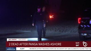 Two dead after boat washes ashore in Ocean Beach