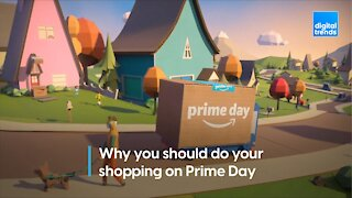 Prime Day Holiday Shopping
