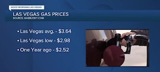 Report: Vegas gas prices continue to rise in June