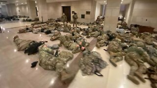 Pentagon Authorizes National Guard Members In D.C. To Carry Weapons