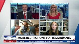 More Restrictions For Restaurants