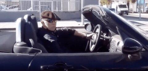 Man pulls hilarious pranks at stop lights!