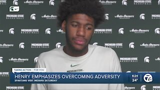 Henry, Spartans focused on overcoming adversity