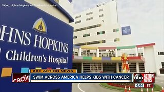 Swim Across America raises money for cancer research