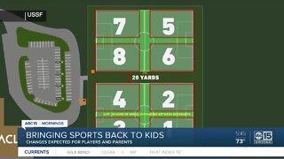 Bringing sports back to kids amid pandemic
