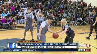 SWFL Special Olympics teams basketball competition