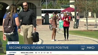 Second FGCU student test positive for COVID-19