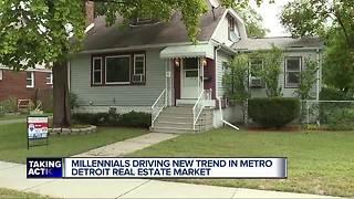 Millennials driving new trend in metro Detroit real estate market