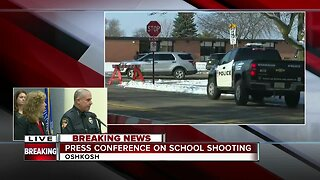 Press conference on school shooting